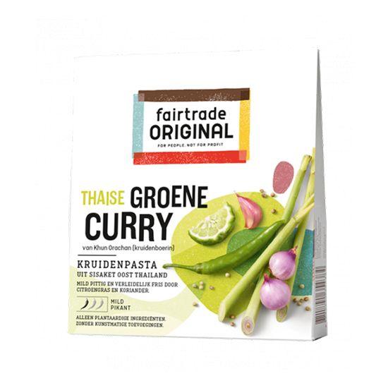 Fairtrade original Thaise groene curry
