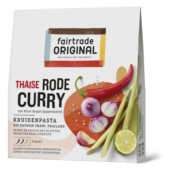 Fairtrade original Thaise curry - rode curry