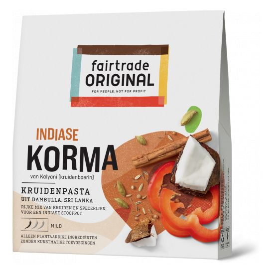 Fairtrade original Korma kruidenpasta