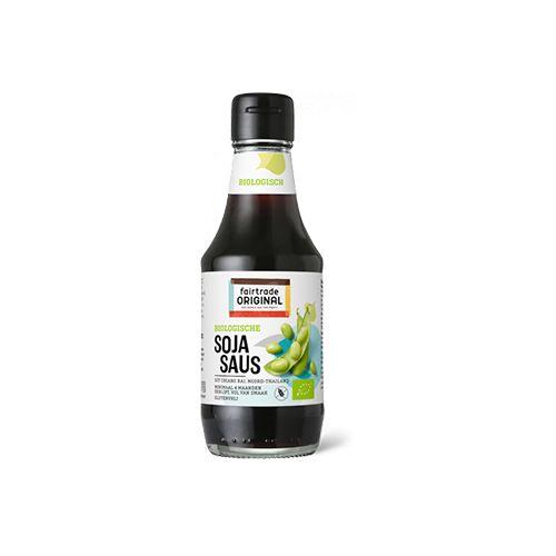 Fairtrade original biologische sojasaus