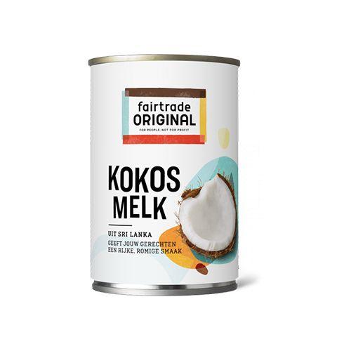 Fairtrade original kokosmelk 2 varianten