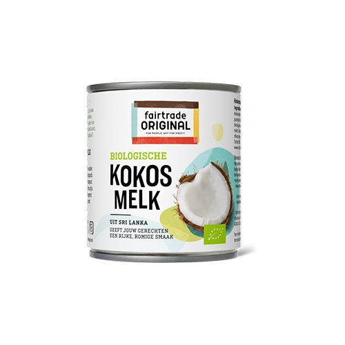 Fairtrade original kokosmelk biologisch