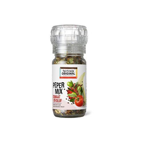 Fairtrade original pepermix tomaat & Olijf