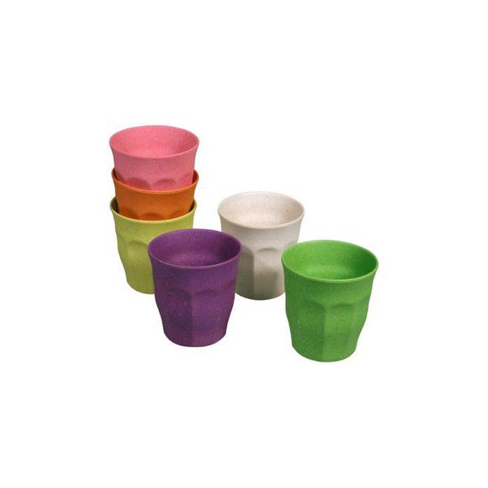 Zuperzozial Cupful of Colour drinkbeker 6 st.