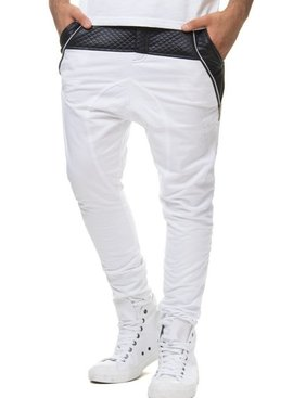 Kickdown *Mega Sale* Joggingbroek Wit (Maat L)