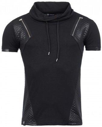 ReRock Double Zip T-shirt Leather Look