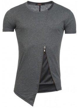 ReRock T-shirt Bottom Zip Grey (M/L)