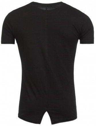 ReRock T-shirt Bottom Zip Black