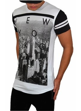 Young & Rich T-shirt New York (M/L)