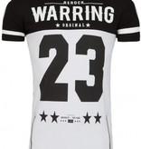 ReRock T-shirt 23 black white