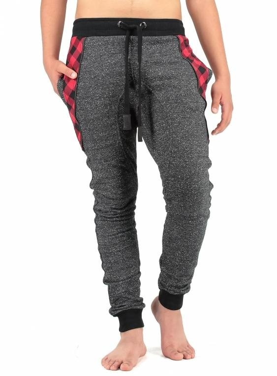 Blackrock Joggingbroek Antraciet Rood
