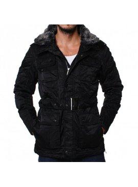Young & Rich Long Jacket Fake Fur