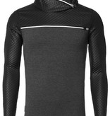 Carisma Longsleeve met rits en leather look