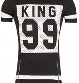 Young & Rich T-shirt King 99 Black