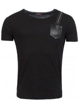 ReRock T-shirt Shoulder Zip (S/M/L/XL)