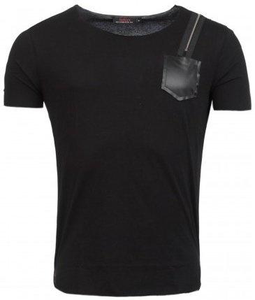 ReRock T-shirt Shoulder Zip