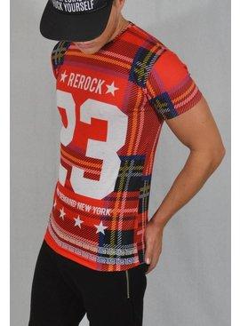 ReRock T-shirt 23 Red (XS/S/ M)