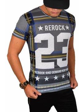 ReRock - T-shirt 23 Grey