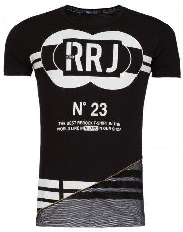 ReRock T-shirt RRJ Black