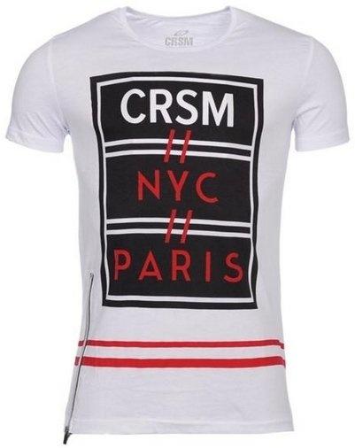 Carisma T-shirt Paris White