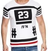 Kickdown T-shirt 23 White