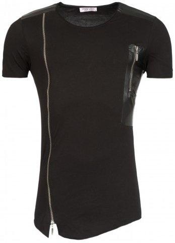 Young & Rich T-shirt Long & Short Zip