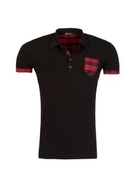 ReRock Polo Red Pocket (S/M)