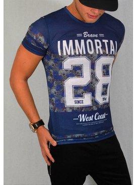 ReRock T-shirt Immortal 28 Blue (XS & M/L)