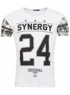 ReRock T-shirt Synergy 24 White (Maat XS)
