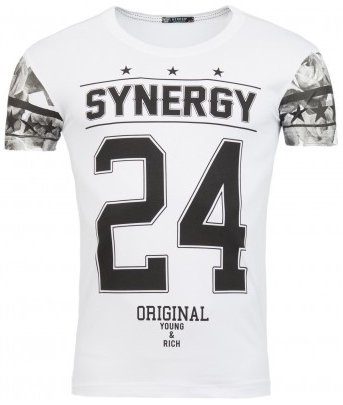 ReRock T-shirt Synergy 24 White