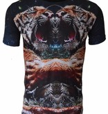 T-shirt Double Tiger