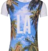 Carisma T-shirt LA White