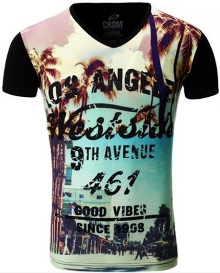 Carisma T-shirt Los Angeles Black