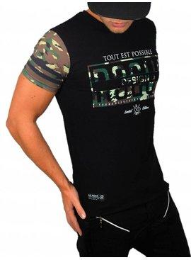ReRock T-shirt Camo Design (Maat M)