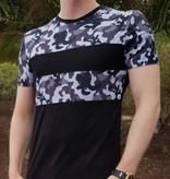 T-shirt Camo Grey