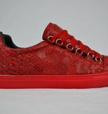 Tamboga Low Sneaker Croc Red