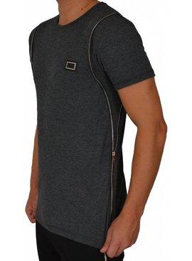 Leif Nelson T-shirt Side Zip (S)
