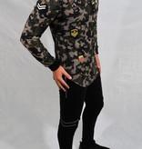 Longsleeve Camouflage & Badges