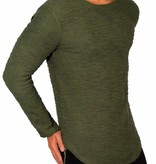 Longsleeve Perfect Fit Details Green
