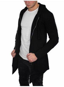 Lang Vest Milano Zwart (Maat M)