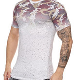 Spotted Camo Tee White