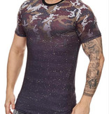 Spotted Camo Tee Black