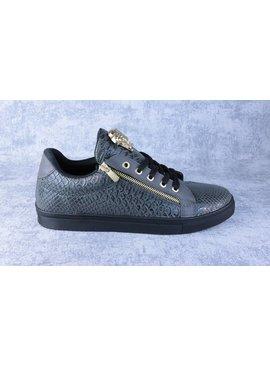 Tamboga Lage Sneaker Snake Rits Grijs (Maat 41)
