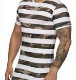 Camo Stripe T-shirt White