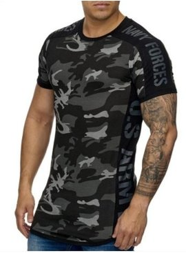 Camo Navy Forces T-shirt (M/L/XL)