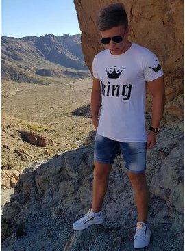 King T-shirt White (S/L/XL)