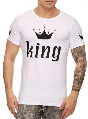King T-shirt White