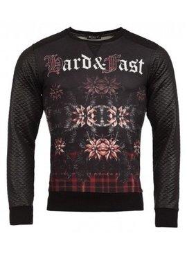 ReRock Sweater Hard & Fast (maat m/l)