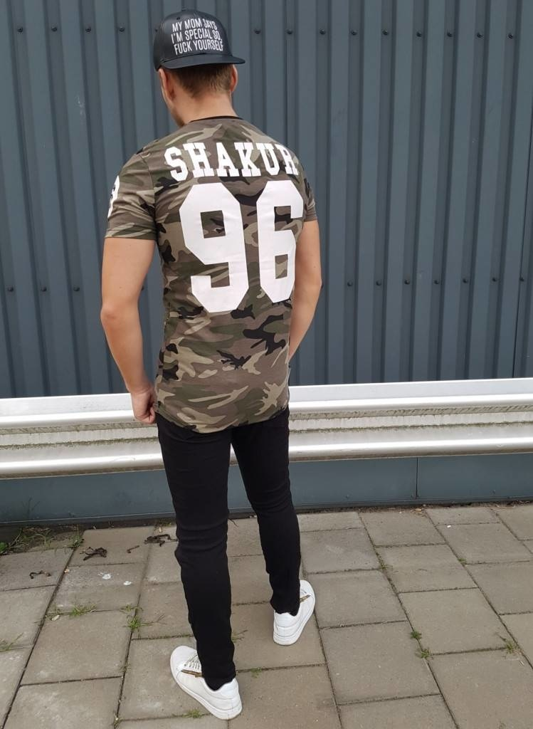 T-shirt Shakur 96