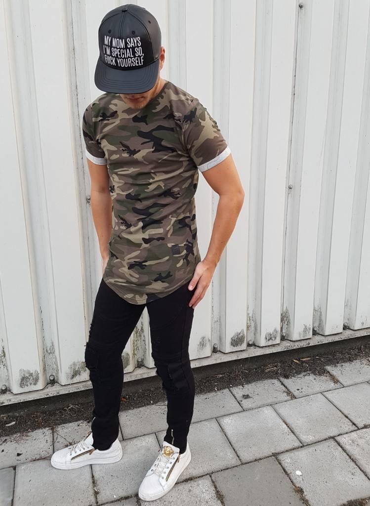 T-shirt Camo Green